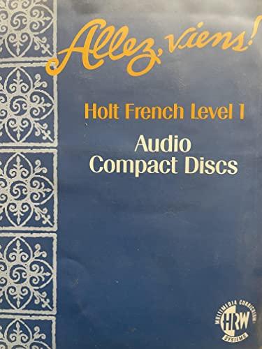 9780028031552: Allez, Viens Holt French Level 1 Audio Compact Discs