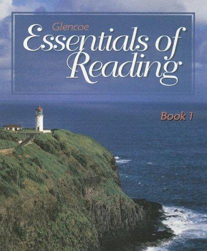 9780028031729: Glencoe Essentials of Reading Series Book 1