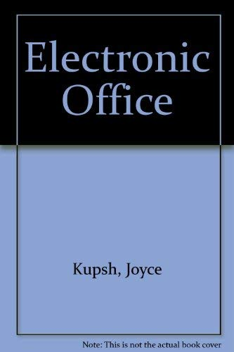 9780028035109: Electronic Office