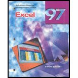 9780028035932: Excel 97: Solutions Manual