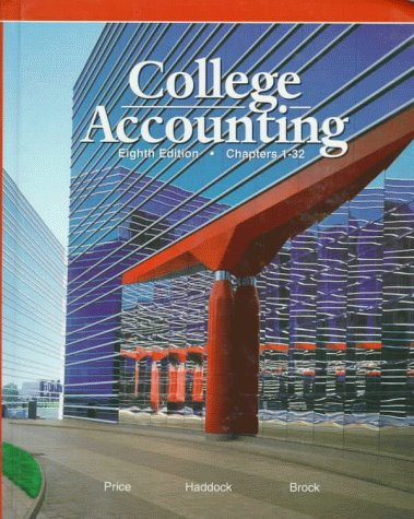 9780028040561: College Accounting