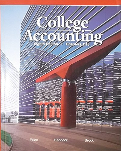 9780028040592: College Acc0Unting
