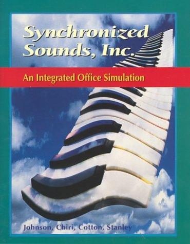 9780028041834: Glencoe Keyboarding with Computer Applications, Synchronized Sounds Inc. Simulation, Student Edition