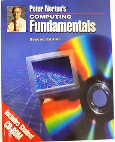 9780028043371: Peter Norton's Computing Fundamentals (Computer Studies)