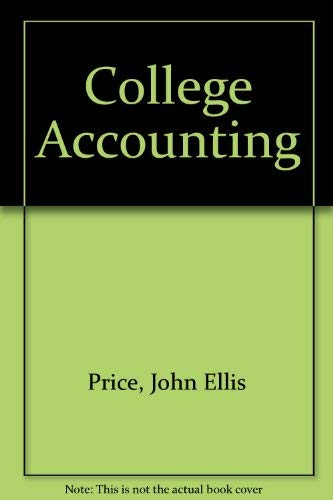 9780028046181: College Accounting