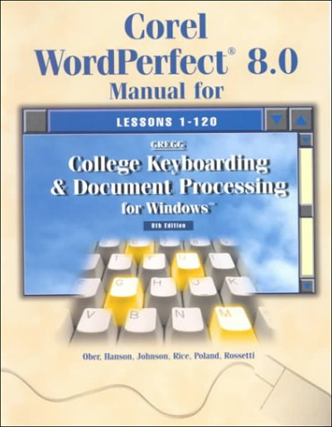 9780028047690: College Keyboarding and Document Processing for Windows