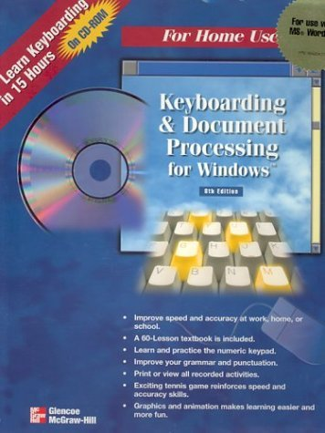 9780028047782: Gregg College Keyboarding and Document Processing for Windows