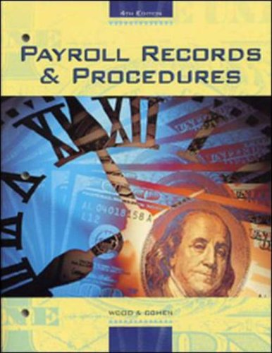 9780028048277: Payroll Records and Procedures