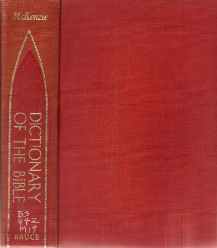 9780028048703: Dictionary of the Bible