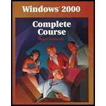 9780028048970: Windows 2000: Complete Course