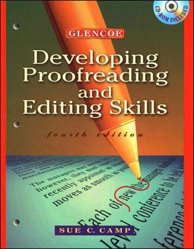 9780028050027: Developing Proofreading and Editing Skills