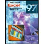 9780028051901: Excel 97: Basic Course