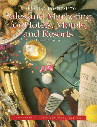 9780028087559: Marketing Hospitality: Sales and Marketing for Hotels, Motels, and Resorts (The Hospitality Professional Series)