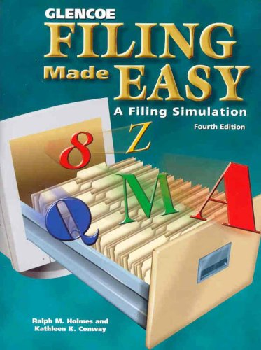 9780028138312: Filing Made Easy A Filing Simulation