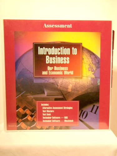 9780028141718: Glencoe Introduction to Business, Our Business and Economic World (Assessment Binder)