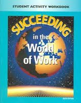 9780028142289: Glencoe Succeeding in the World of Work Implementing Block Scheduling. (Paperback)
