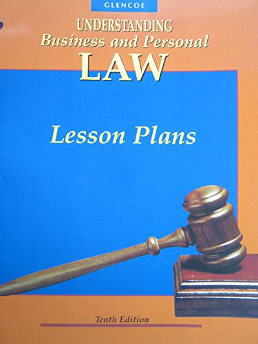 9780028146515: Understanding Business and Personal Law: Lesson Plans