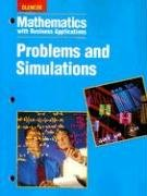 9780028147321: Mathematics with Business Applications: Problems and Simulations (LANGE: HS BUSINESS MATH)