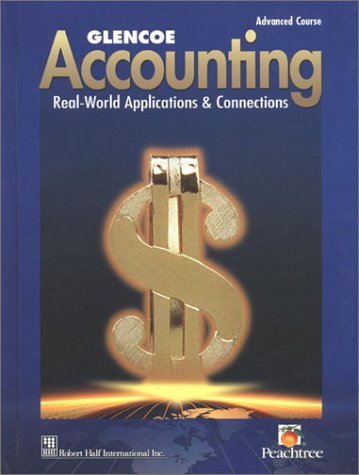 9780028150055: Glencoe Accounting: Advanced Course, Student Edition