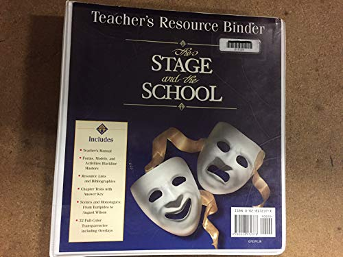 9780028172378: The Teacher's Resource Binder: The Stage & the School
