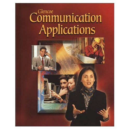 9780028172460: Communication Applications - Texas Teacher's Wraparound Edition