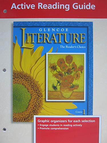 9780028172873: Active Reading Guide (Glencoe The Reader's Choice, Course 1)