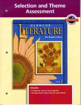 9780028173160: Glencoe Literature: Selection and Theme Assessment (Selection and Assessment, Course 1)