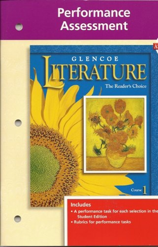 9780028173177: Glencoe Literature: Course 1: Performance Assessment