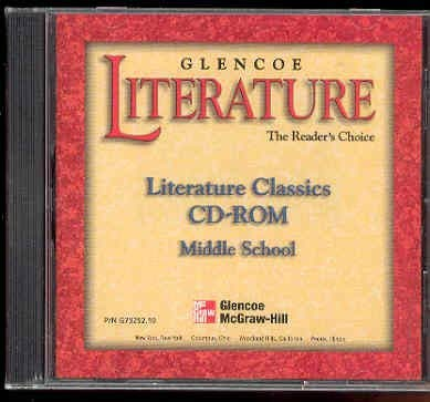 9780028173252: Literature Classics CD-ROM Middle School (The Reader's Choice)