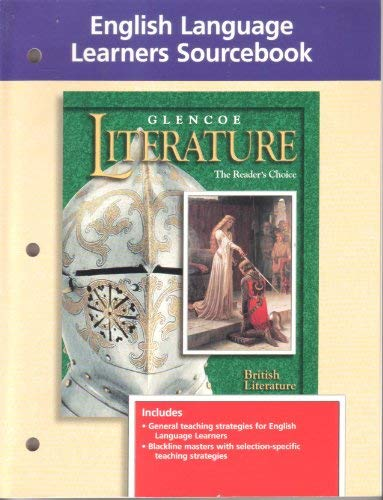 9780028177878: Glencoe Literature, the Readers Choice: English Language Learners Sourcebook, British Literature