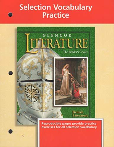 9780028177984: Glencoe Literature, Grade 12, Selection Vocabulary Practice