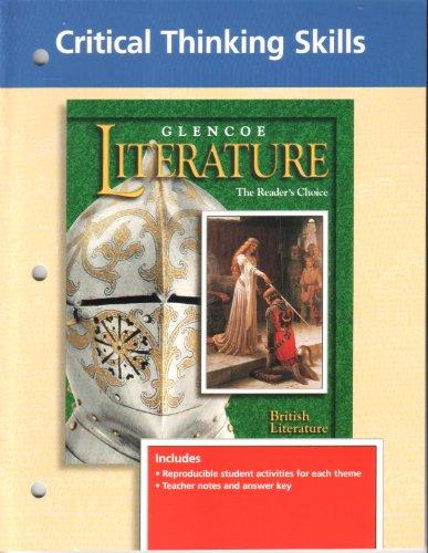 9780028178059: Glencoe Literature, the Readers Choice: Critical Thinking Skills