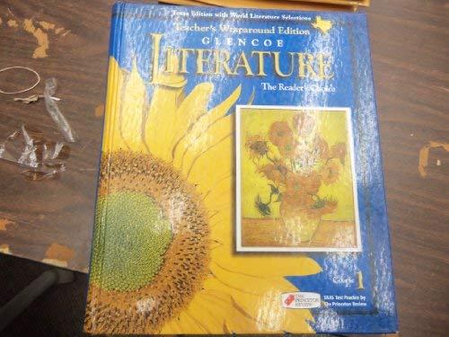9780028179292: Literature Course 1 Texas Edition (Teacher's Wraparound Edition) (GLENCOE LITERATURE, COURSE 1)