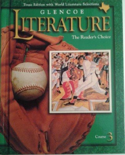 9780028179346: Glencoe Literature, Grade 8 St