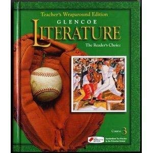 9780028179353: Glencoe Literature The Readers Choice: Course 3. Texas Teacher's Wraparound Edition with World Literature Selections (Course 3)