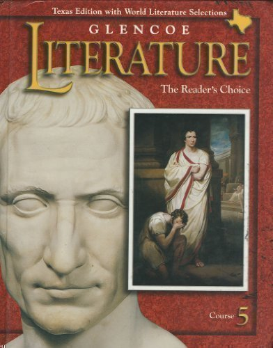 9780028179414: Glencoe Literature the Readers Choice Course 5 (Texas Edition with World Literature Selections)