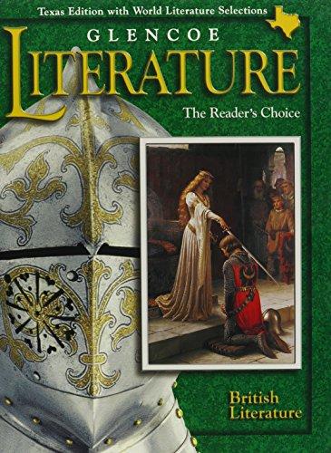 9780028179476: Glencoe Literature: British Literature Texas Edition: The Reader's Choice