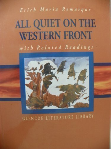 9780028179940: All Quiet on the Western Front (with Related Readings)