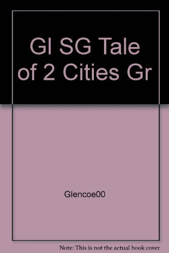 9780028180410: A Tale of Two Cities; Glencoe Literature Library Study Guide