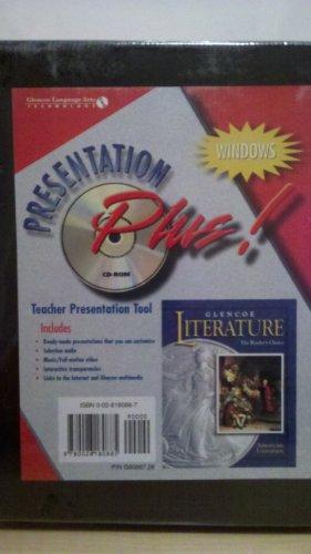9780028180885: Glencoe Literature Presentation Plus! CD-Rom American Literature, Grade 11