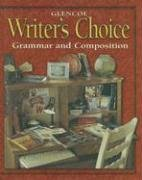 9780028181493: Writer's Choice © 2001 Grade 10 Student Edition : Grammar and Composition