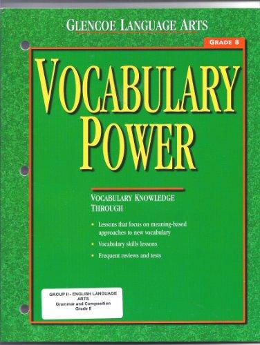 Vocabulary Power, Grade 8 (Glencoe Language