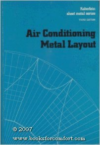 9780028193601: Air Conditioning Metal Layout