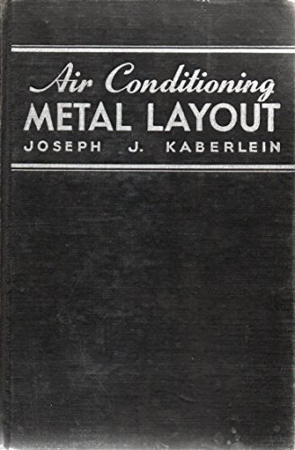 9780028194400: Air Conditioning Metal Layout (Kaberlein Sheet Metal Series)