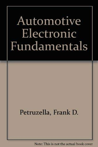 9780028199306: Automotive Electronic Fundamentals
