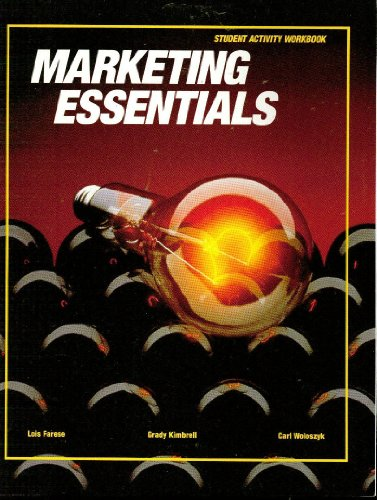 Marketing Essentials: Student Activity Workbook: Farese, Lois