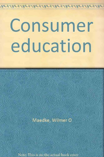 9780028201009: Consumer education