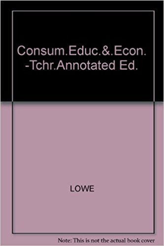 9780028202501: Consum.Educ.&.Econ. -Stud.Wb