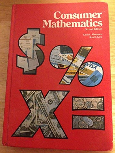 9780028205007: Consumer Mathematics
