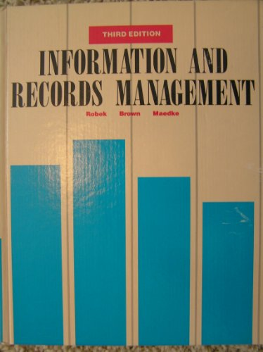 9780028205908: Information & Records Management